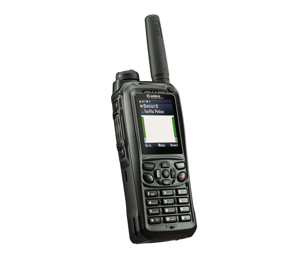 TH9 handheld TETRA radio